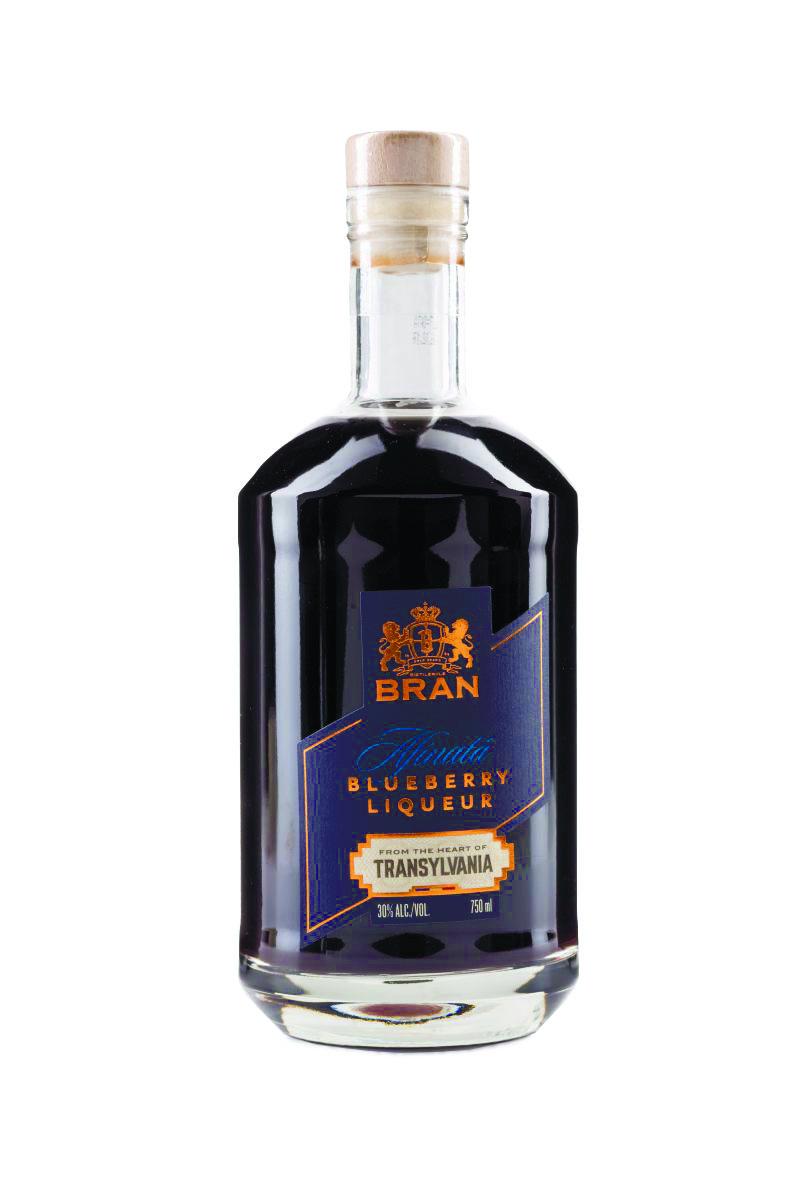 Bran Blueberry Liqueur