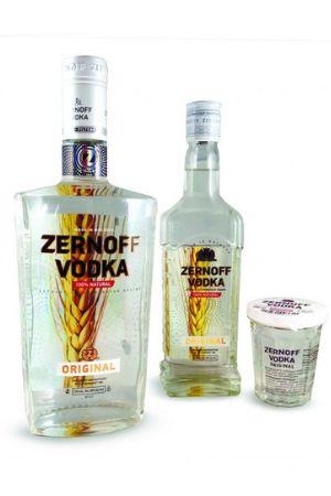 Zernoff Vodka Original 100 ml., 375ml., 750ml.
