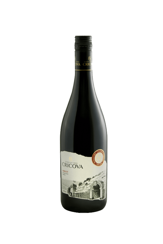 Cricova Merlot screw cap