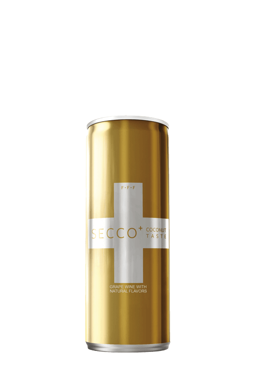 SECCO+ Coconut Sparkling Wine Pack of 4