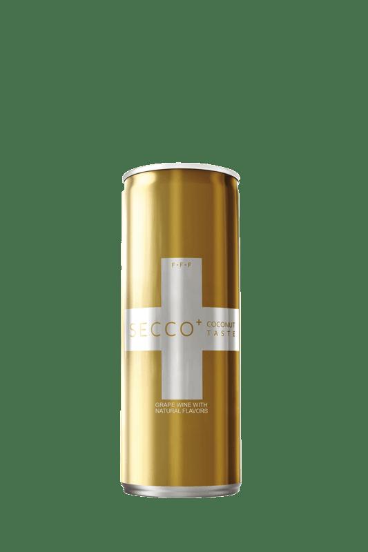 SECCO+ Coconut Sparkling Wine Pack of 4