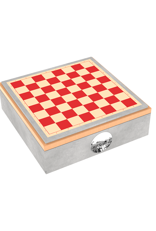 Art Russe chess case