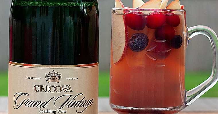 Sparkling Wine Mixed Drink