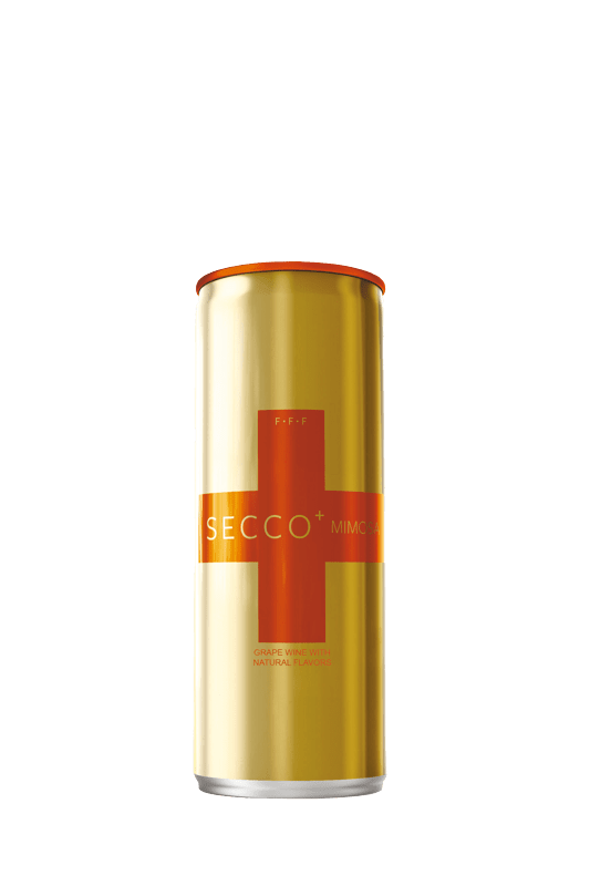 SECCO+ Mimosa Sparkling Wine Pack of 4