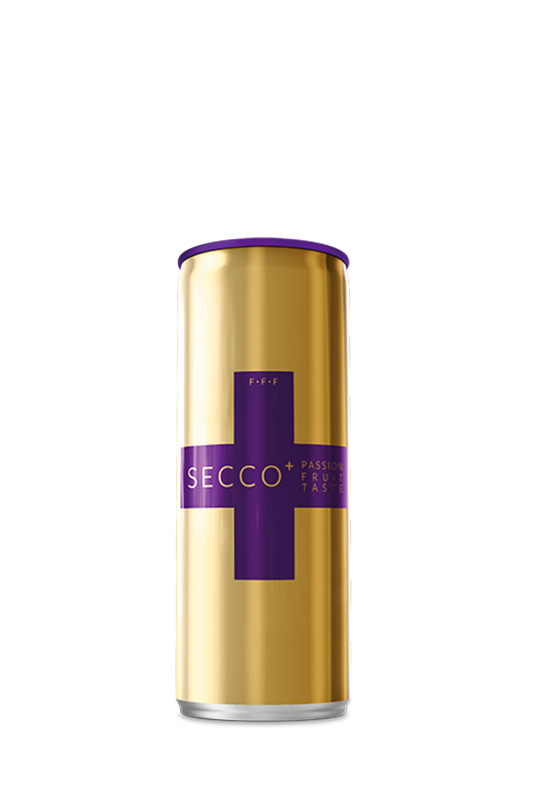 SECCO+ Passion Fruit Sparkling Wine Pack of 4