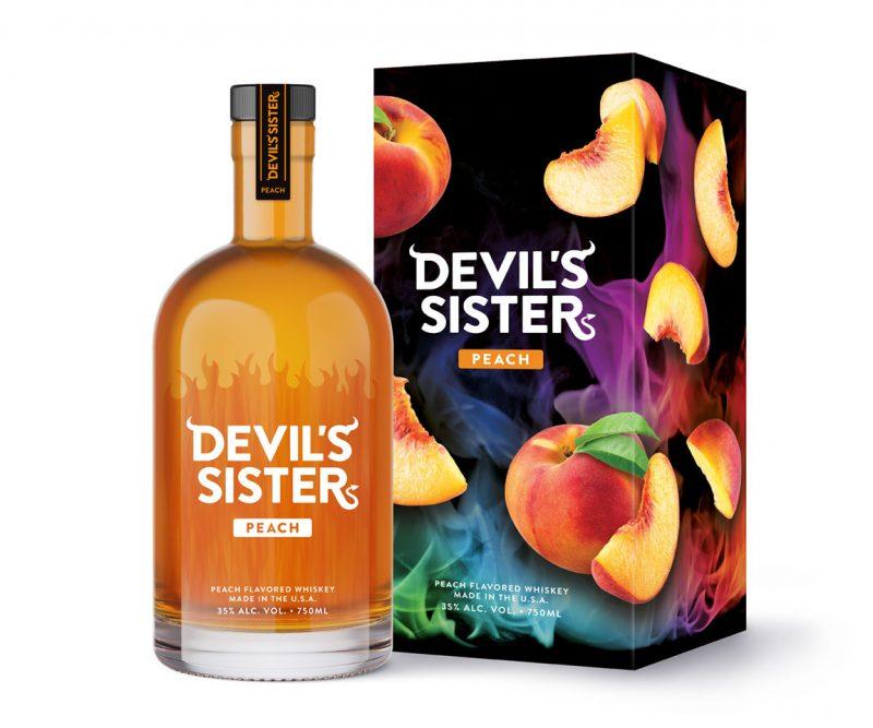 devil's sister peach whiskey